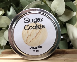 3 oz Tin Candle Sugar Cookie